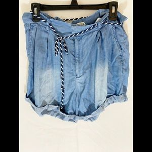 ❤️ 3/20 LOGG Blue Jean High Waisted Shorts 8